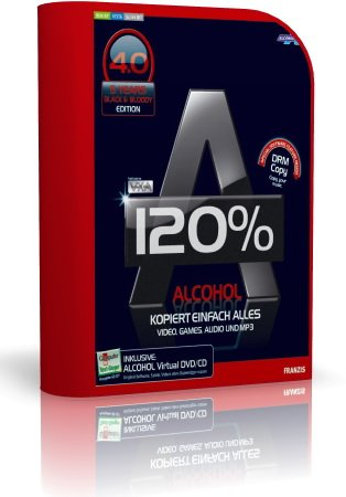 Alcohol 120% v2.0.0.1331 Retail XCV Edition (2010)